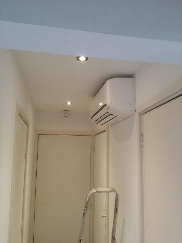 Airco gemaakt 3 slaapkamers koelen