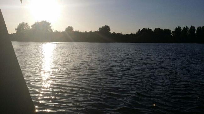 Maas Roermond zomer 2015 veel water