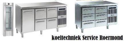 onderdelen service koeltechniek