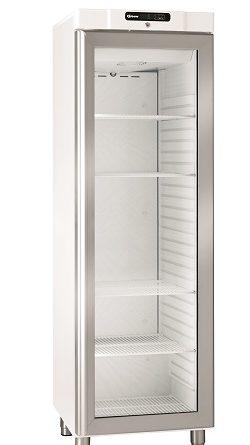 glasdeur koelkast wit